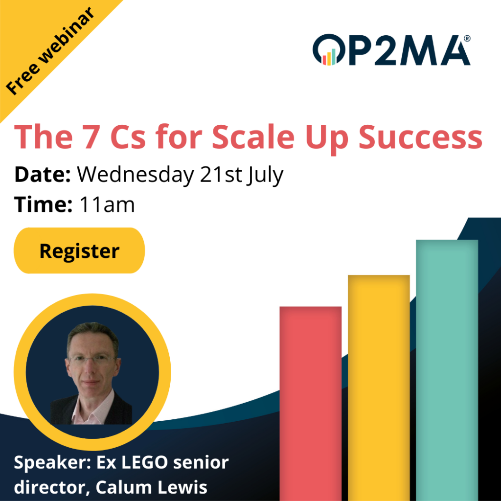 Free webinar: The 7Cs of Scale Up Success